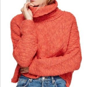 Free People Big Easy Cowl Neck Sweater